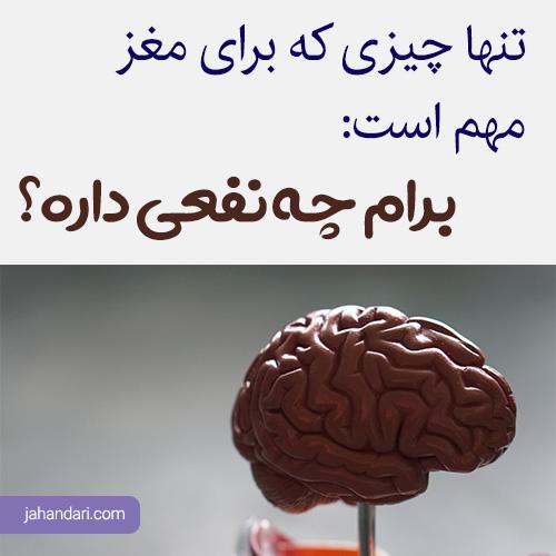 مغز در زمان خرید
